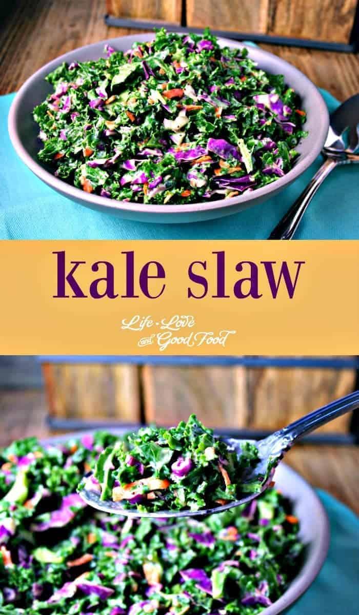 Kale Slaw | Life, Love, and Good Food