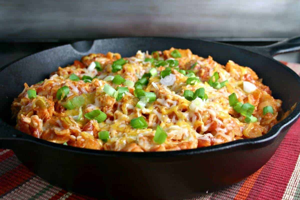 Easy Enchilada Skillet with Chicken | Life, Love, and Good Food