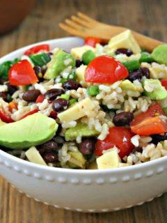 Santa Fe Rice Salad | Life, Love, and Good Food