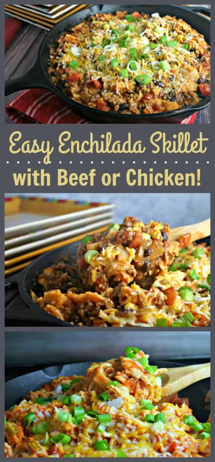 Easy Enchilada Skillet | Life, Love, and Good Food