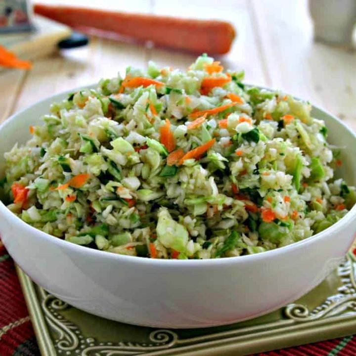 Tangy Cole Slaw   Life, Love, and Good Food