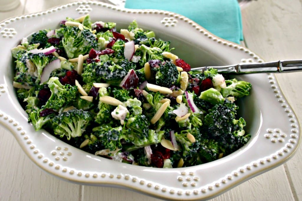 Lightened Up Broccoli Salad - Life, Love, and Good Food
