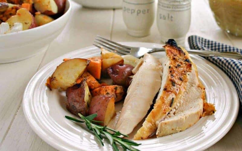 Rotisserie Chicken & Roasted Veggies