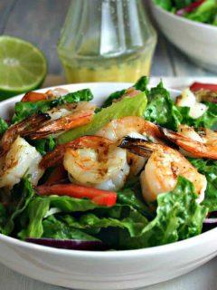 Citrus Grilled Shrimp Salad   Life, Love, and Good Food