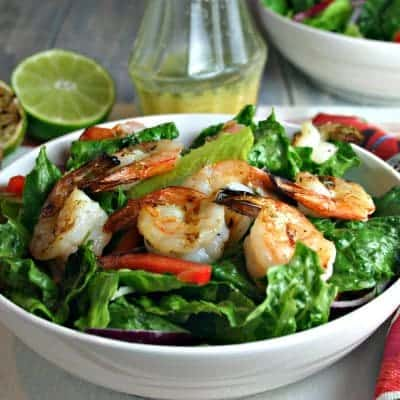 Citrus Grilled Shrimp Salad