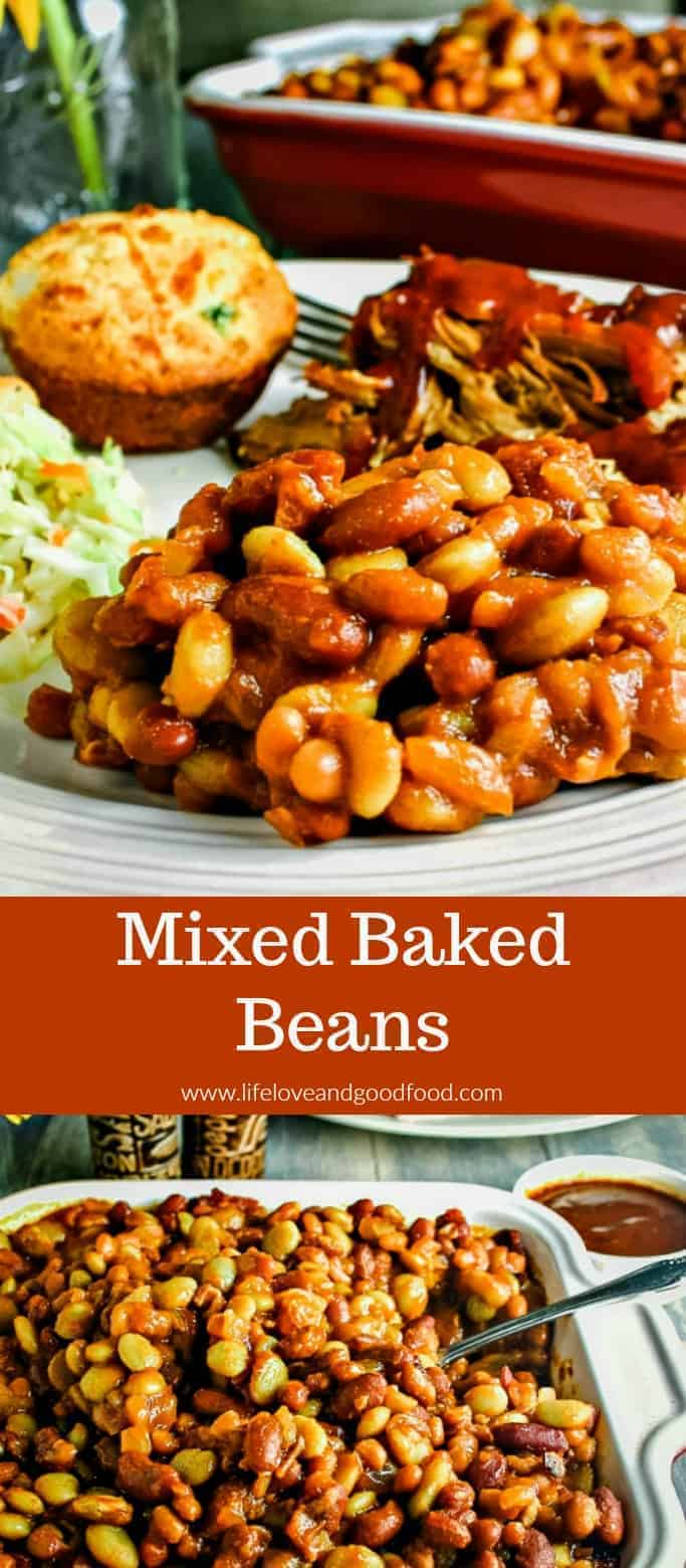 Three different beans go into this delicious Mixed Baked Beans recipe — perfect for barbecues and picnics!