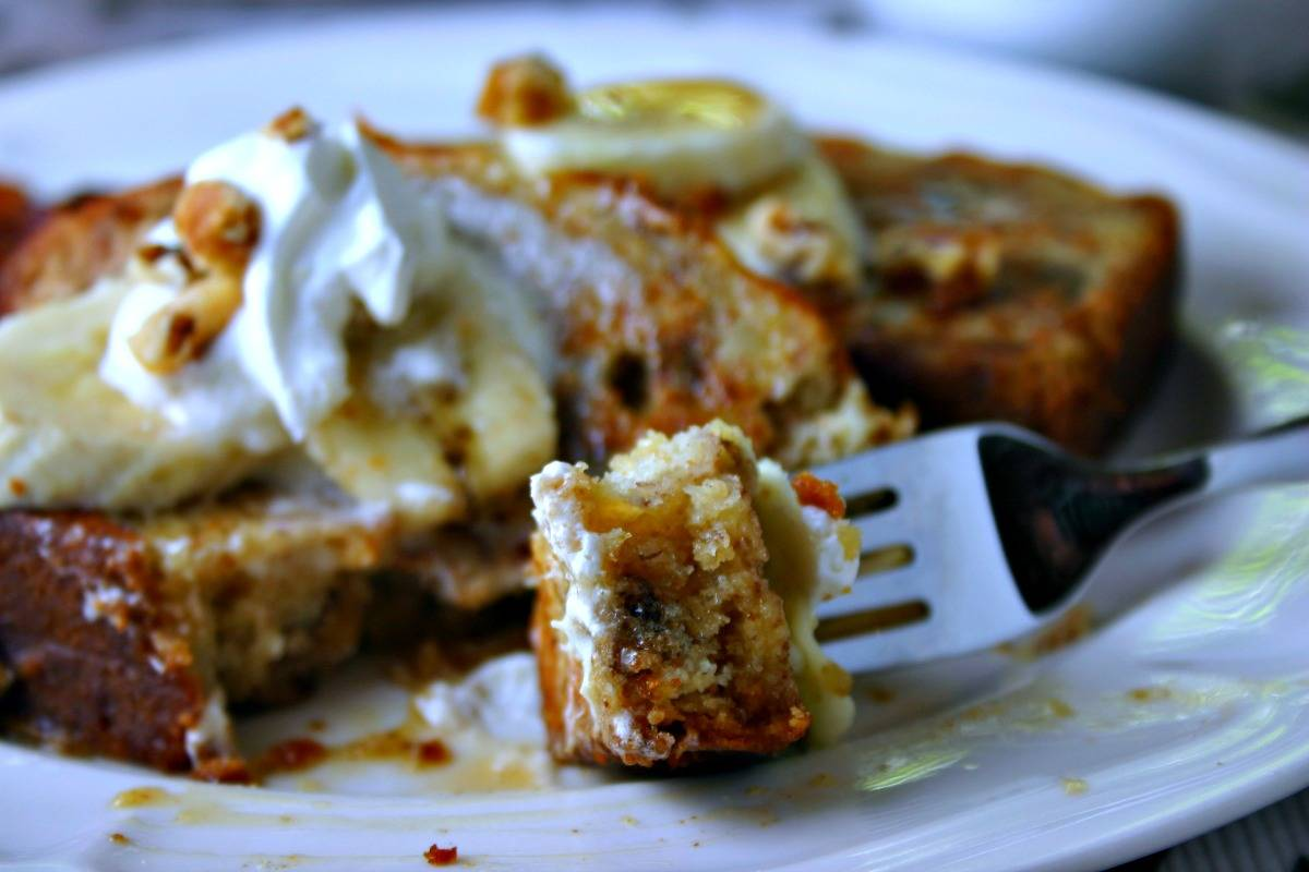 Banana Bread French Toast | Life, Love, and Good Food