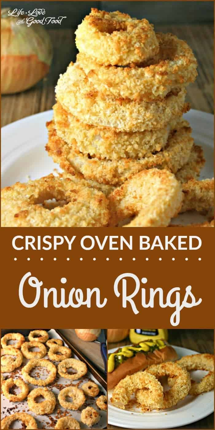 Crispy Oven Baked Onion Rings - Life, Love, and Good Food