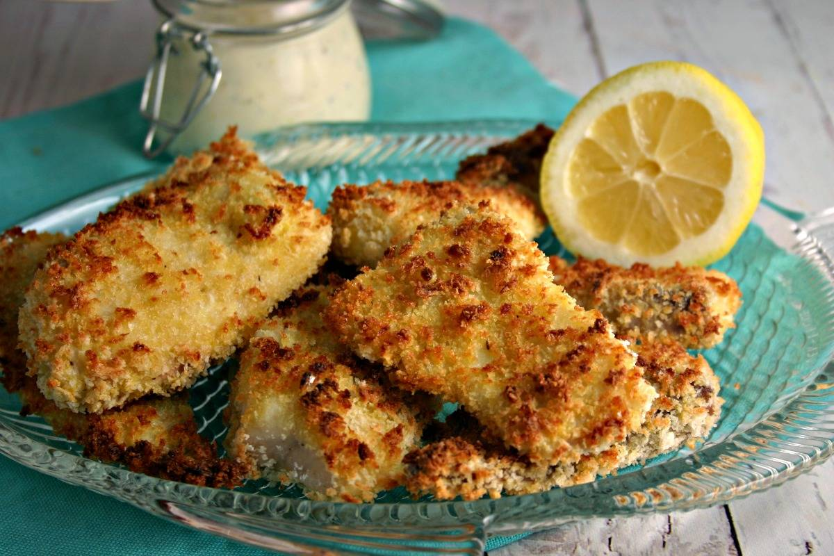 Crispy oven fried fish filets life love and good food for Oven fried fish