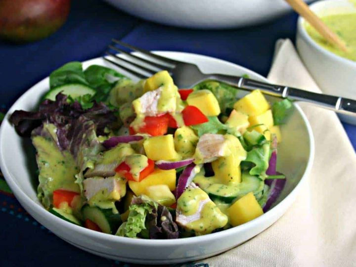 Mango Chicken Chopped Salad