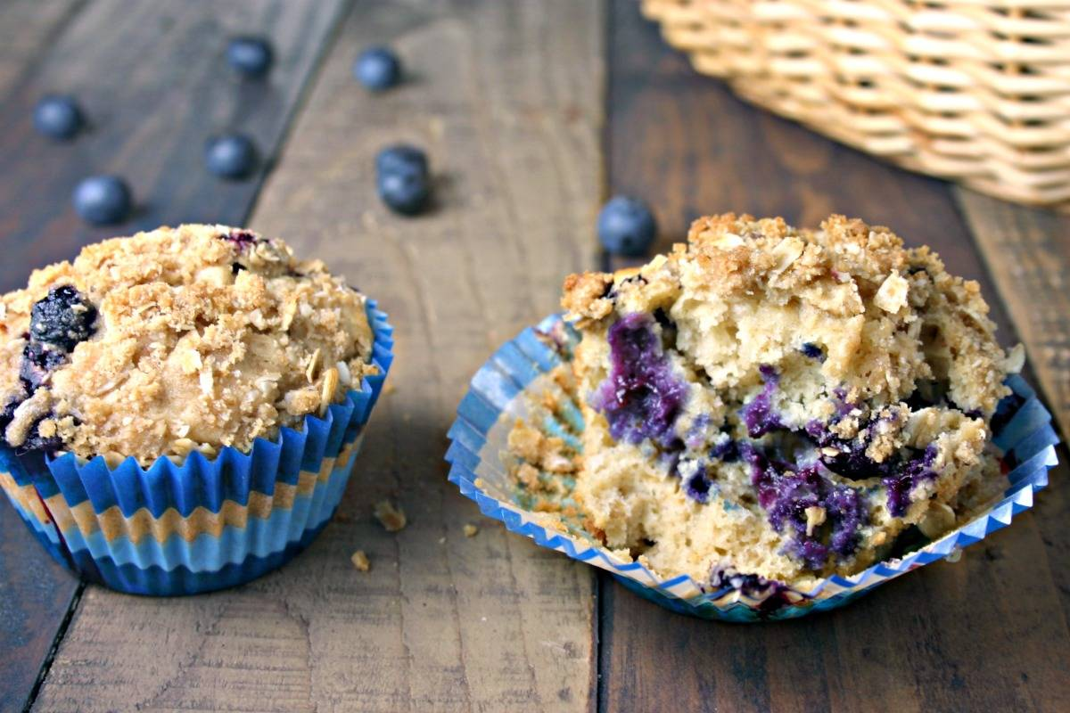 Blueberry Oatmeal Muffins | Life, Love, and Good Food