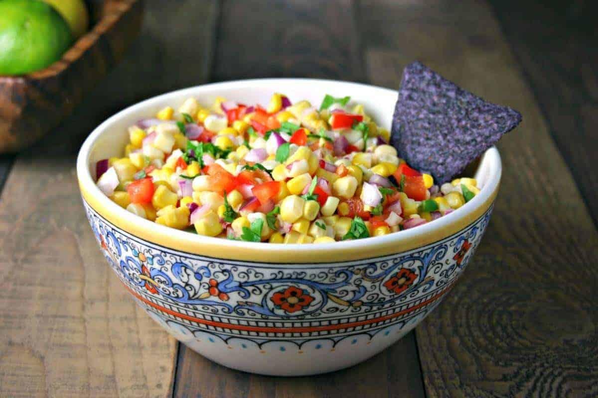 Corn Salsa   Life, Love, and Good Food