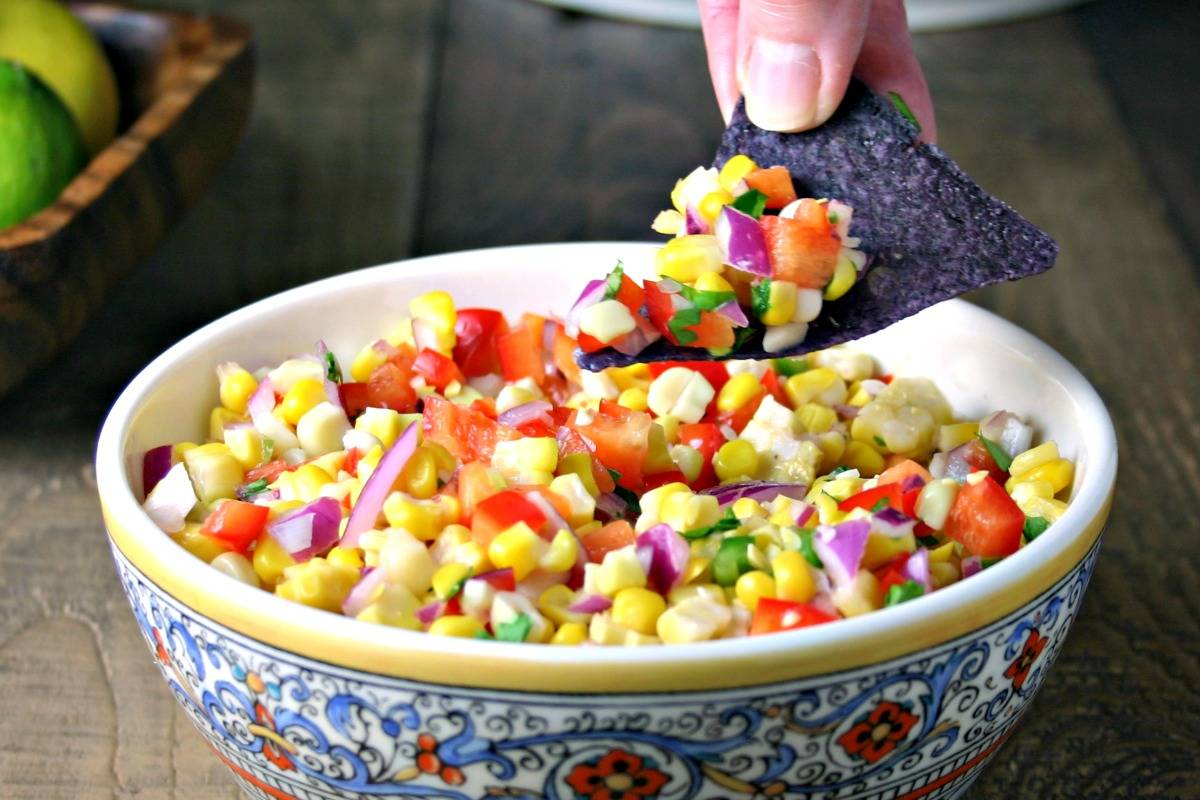 Corn Salsa | Life, Love, and Good Food