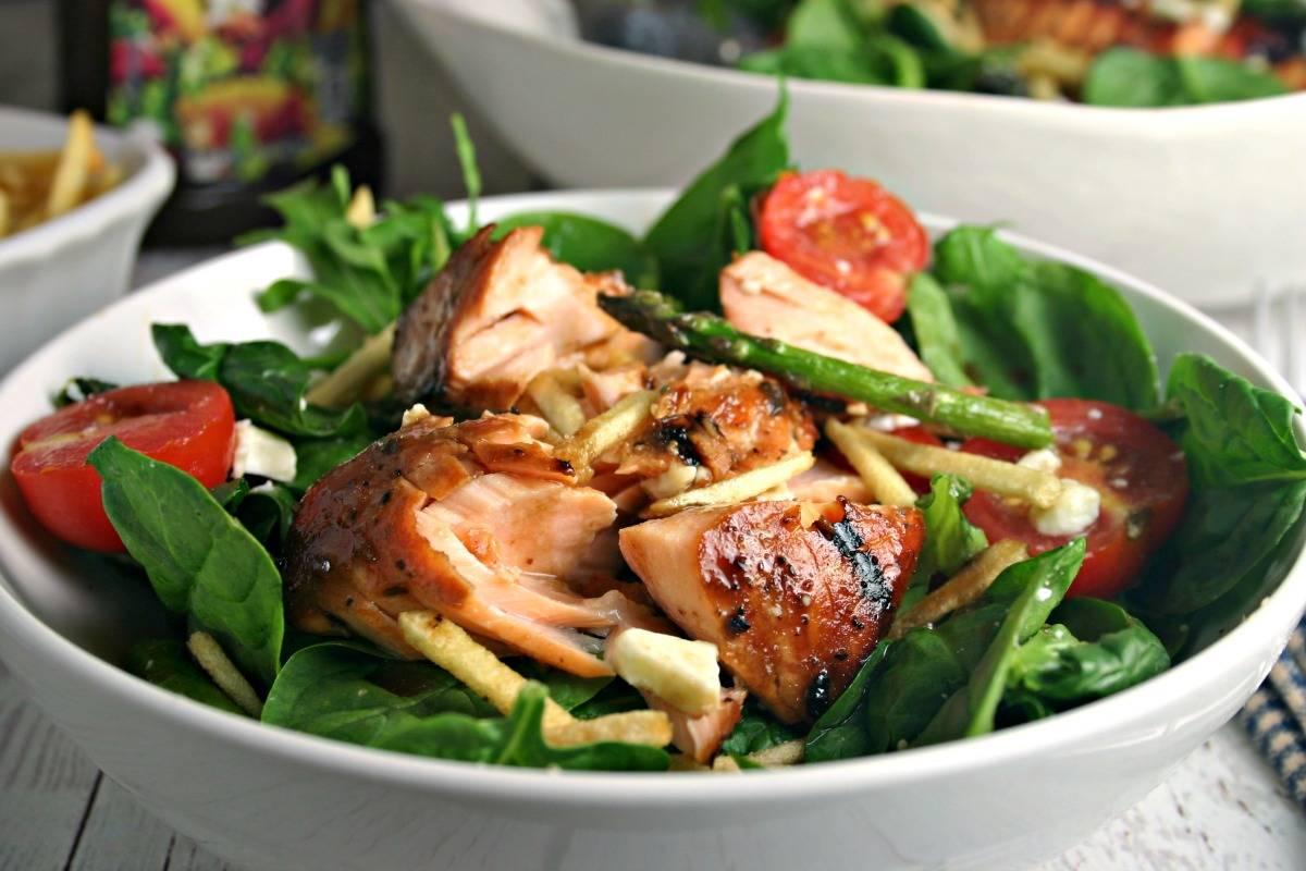 Grilled Salmon Salad | Life, Love, and Good Food