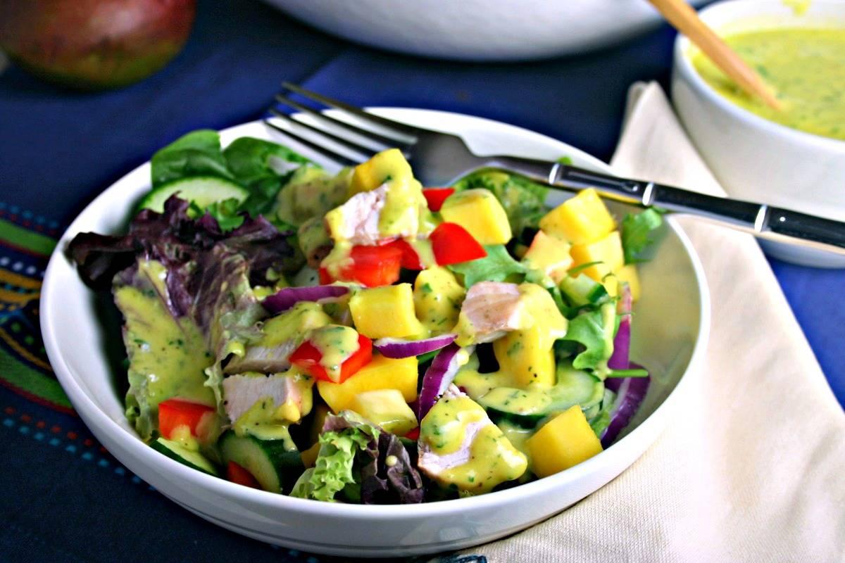 Mango Chicken Chopped Salad | Life, Love, and Good Food