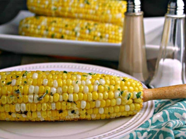 Easy Parmesan Grilled Corn