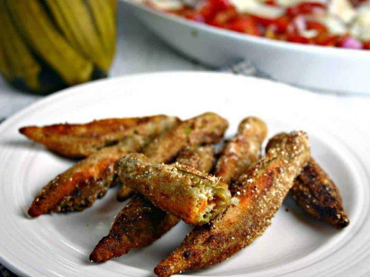 Pimento Cheese Okra Bites