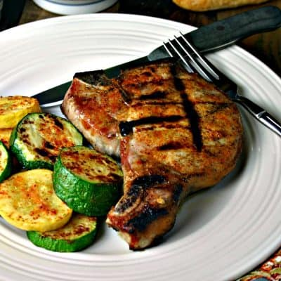 EASY Magic Rub for Grilled Chops and Veggies {Weber's}
