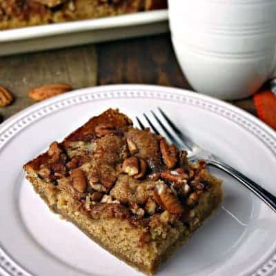 Brown Sugar Pecan Coffee Cake