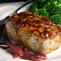 Orange-Mustard Glazed Pork Chops | Life, Love, and Good Food
