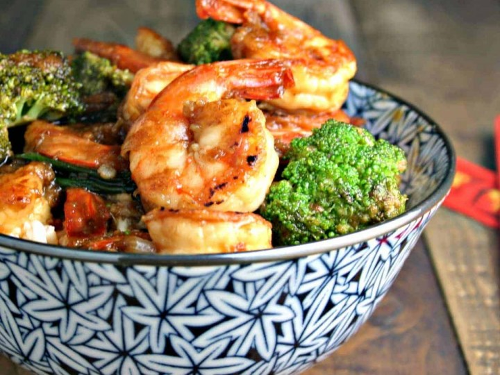 Shrimp Broccoli Stir-Fry