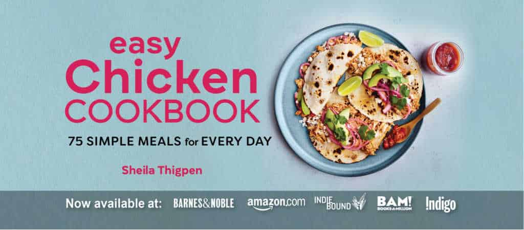 easy chicken cookbook cover image