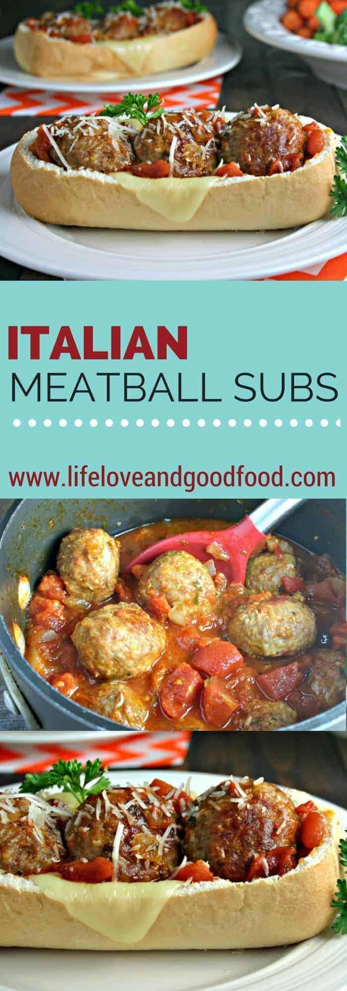 Italian Meatball Subs | Life, Love, and Good Food #Carando #sponsored