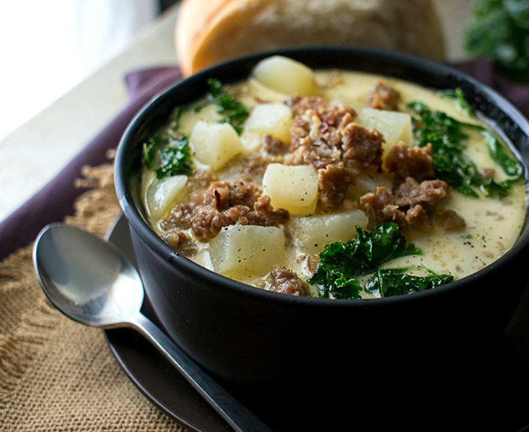 Cooker Zuppa Toscana by The Chunky Chef. The classic zuppa toscana ...