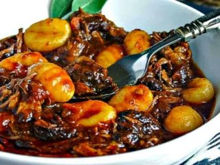 Braised Short Ribs with Gnocchi