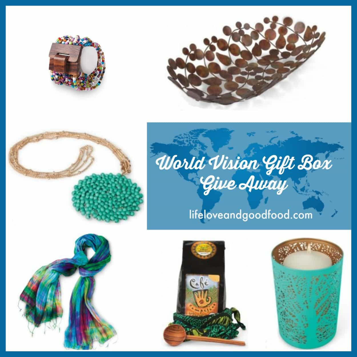 Peace and Harmony. Give gifts that give back this year and enter a giveaway to win beautiful handcrafted gifts from World Vision worth $490. #GiftCatalog | Life, Love, and Good Food