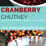 A bowl of Easy Cranberry Chutney