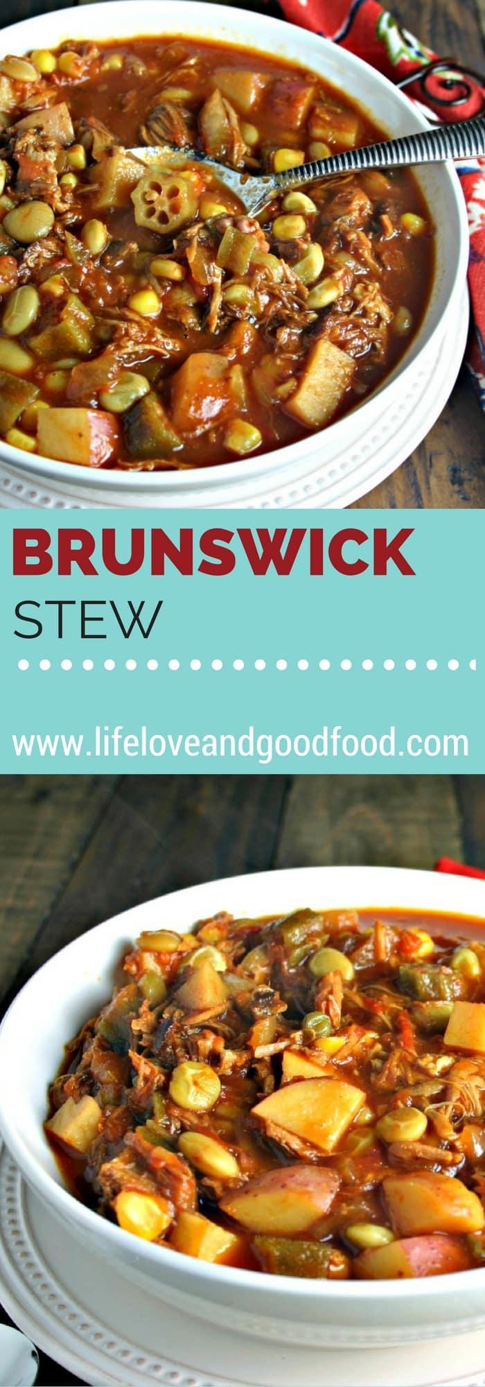 Easy Brunswick Stew | Life, Love, and Good Food