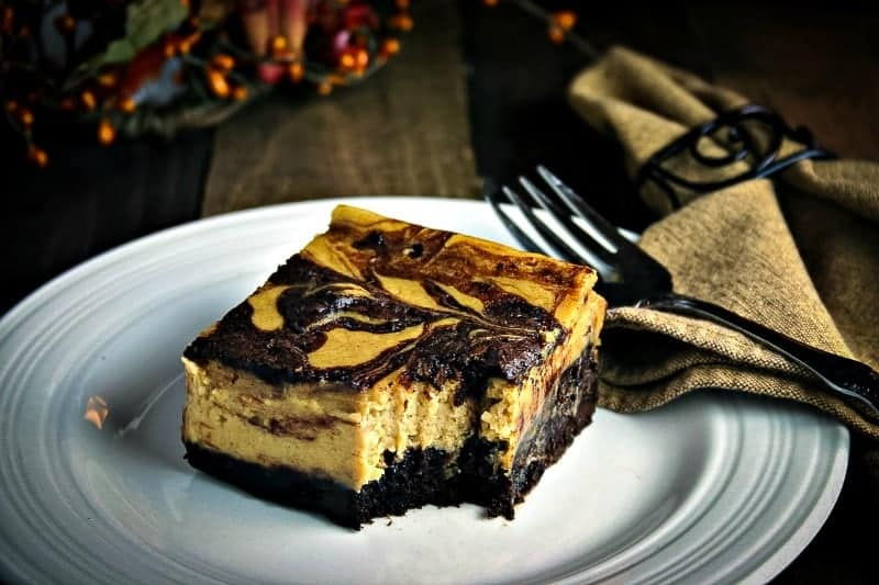 Pumpkin Cheesecake Brownies | Life, Love, and Good Food