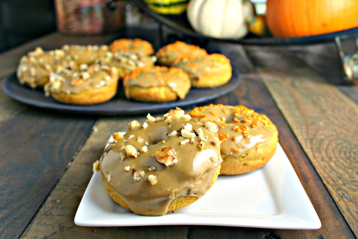 Pumpkin Donuts with Molasses Glaze | Life, Love, and Good Food