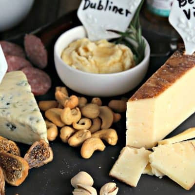 Easy as 1-2-3 Cheese Board