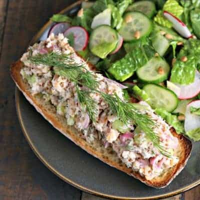 Smoked Trout Tartines