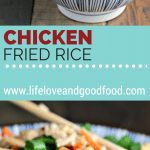 A bowl of Chicken Fried Rice