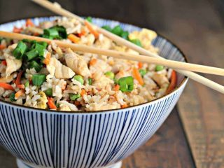 Restaurant Style Chicken Fried Rice