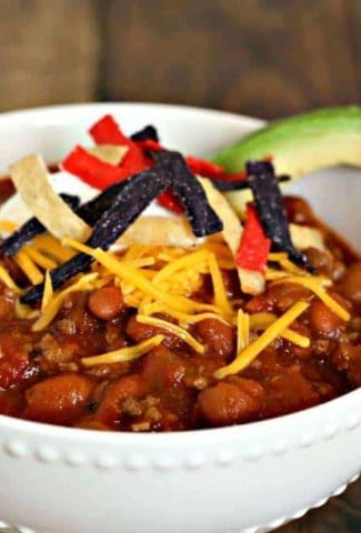 Easy Homemade Red Chili | Life, Love, and Good Food