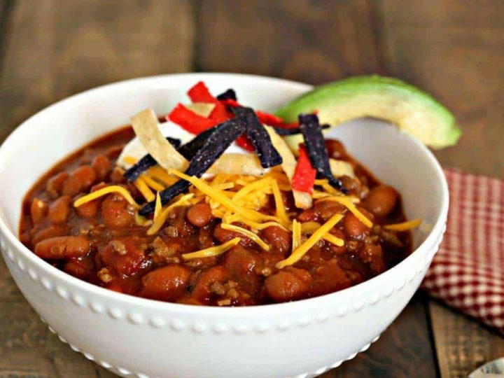 Easy Homemade Red Chili