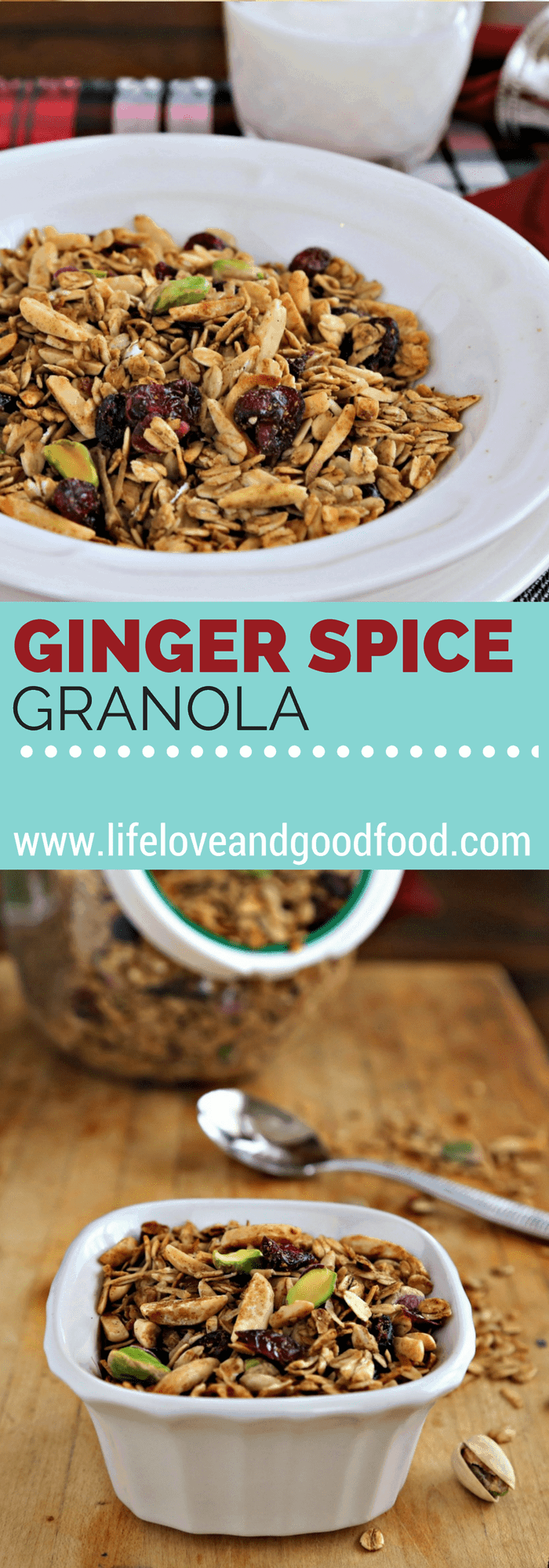 Ginger Spice Granola | Life, Love, and Good Food