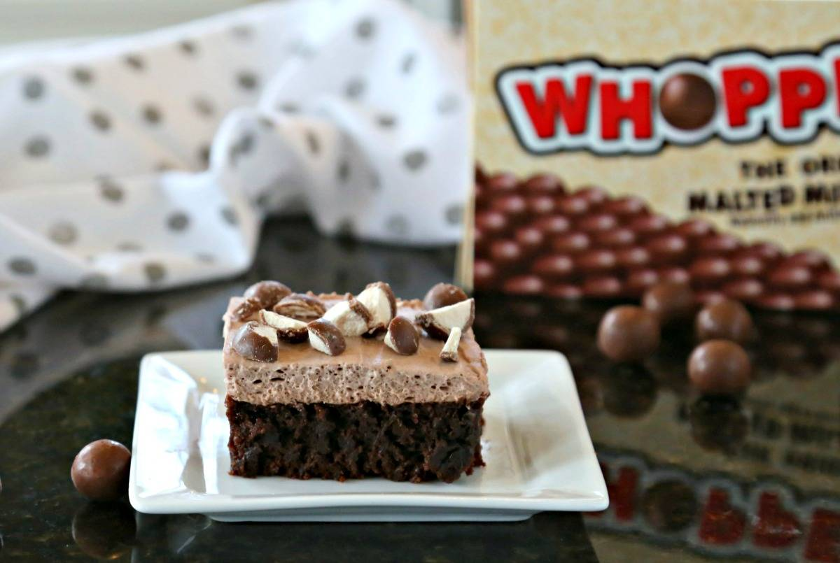 Malted Mousse Brownies | Life, Love, and Good Food