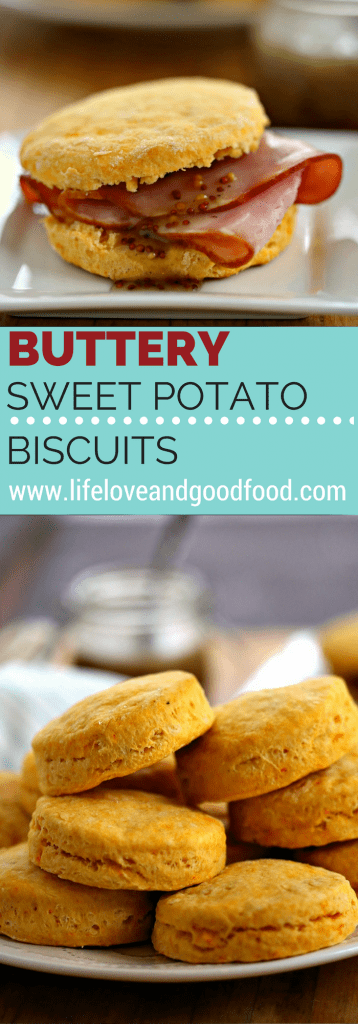 Buttery Sweet Potato Biscuits | Life, Love, and Good Food