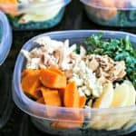 Harvest Chicken Salad meal prep
