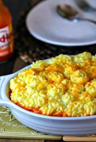 Buffalo Chicken Shepherd's Pie   Life, Love, and Good Food
