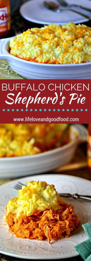 Buffalo Chicken Shepherd's Pie | Life, Love, and Good Food