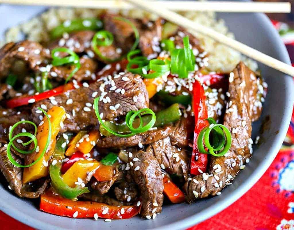 Pepper Steak Stir Fry Life Love And Good Food