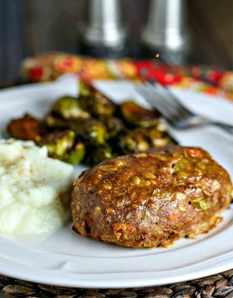 Turkey Meatloaf with Dijon Glaze | Life, Love, and Good Food