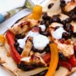 BBQ Chicken Tostada   Life, Love, and Good Food