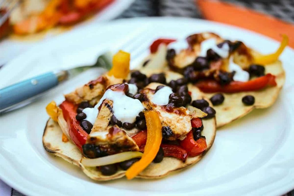 BBQ Chicken Tostada | Life, Love, and Good Food